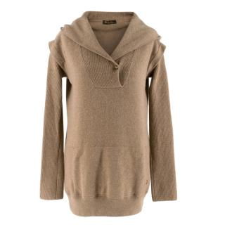 Loro Piana Cashmere Hooded Sweater