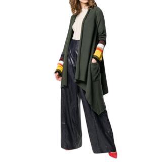 Sonia Rykiel Wool & Cashmere Blend Asymmetric Cardigan
