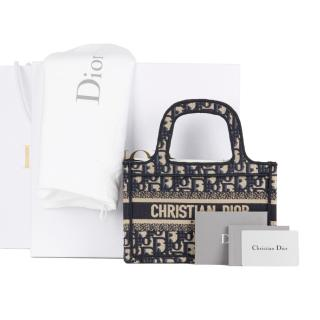 Dior Monogram Oblique Mini Book Tote