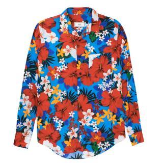 Ami Paris Long Sleeved Flower Shirt