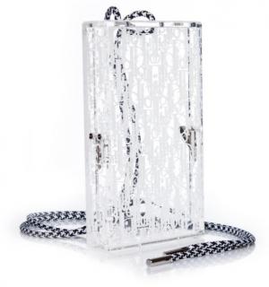 Dior Oblique Plexiglass Pouch