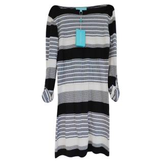Melissa Odabash Striped Knit Dress