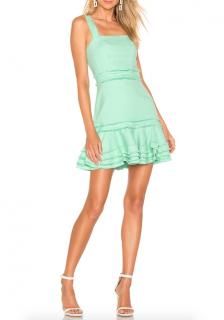 Alexis linen mini dress