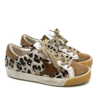 Bonpoint X Golden Goose leo star patch low sneakers