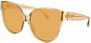 Linda Farrow 656/C7 butterfly oversize sunglasses