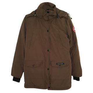 Canada Goose Brown Goose Down Jacket