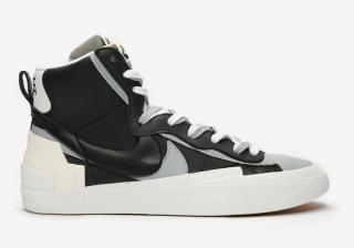 Nike Sacai x Nike Blazer Mid high-top sneakers UK 7 39.5