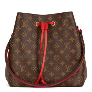 Louis Vuitton Brown Monogram Coquelicot Bag