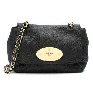 Mulberry Lily Black Glossy Goat Shoulder Bag