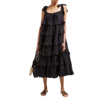 Innika Choo Ivy Frill Maxi Dress