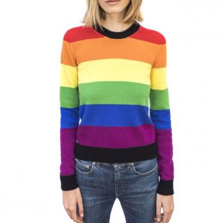 Sonia Rykiel Rainbow Striped Jumper