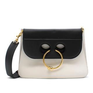 JW Anderson Black & White Pierce Bag