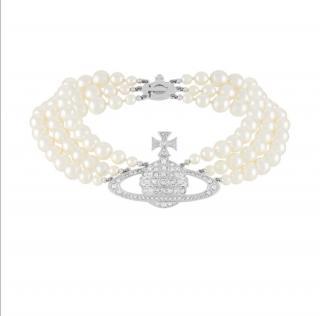 VIVIENNE WESTWOOD  Relief choker necklace