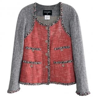 Chanel Colour-Block Tweed Jacket