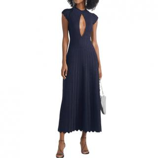 Sonia Rykiel long blue dress
