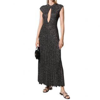 Sonia Rykiel long bronze dress