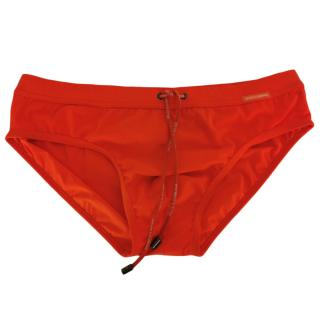 Dolce & Gabbana Orange Swimming Trunks