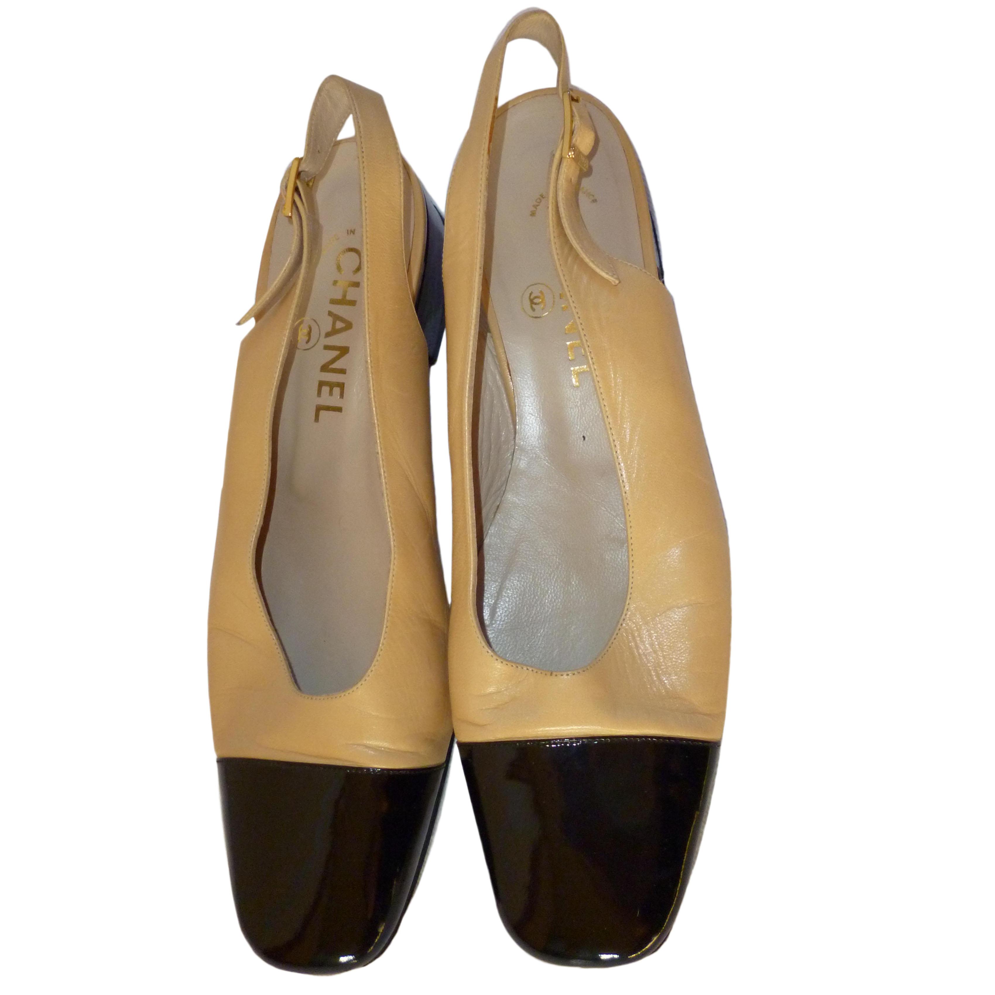 Vintage Chanel Shoes Uk Euro   HEWI