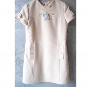 Paul & Joe cream tunic dress