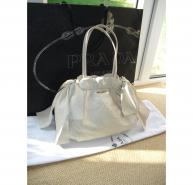 Prada Cream Bow handbag