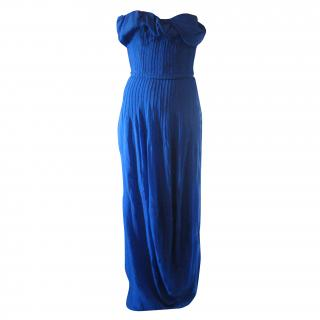John Galliano Mousseline dress