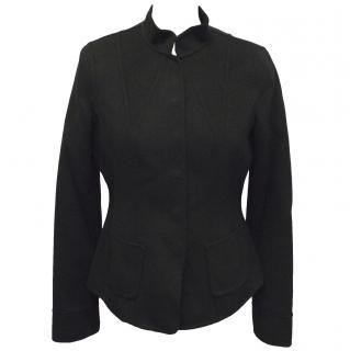 Armani Collezioni black cashmere jacket