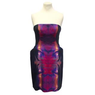 MCQ Alexander McQueen Strapless Dress