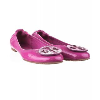 Tory Burch Reva Pump Party Fuschia Size US 9