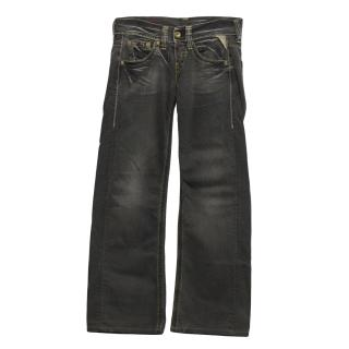 Replay grey straight leg jeans