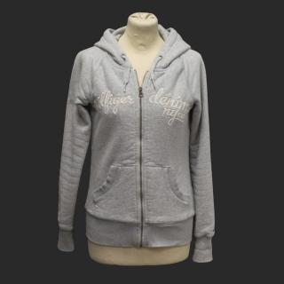 Tommy Hilfiger grey hooded jumper