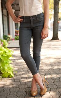 New Goldsign skinny grey jeans