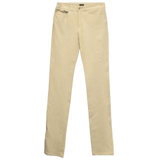 Joseph beige slim fit jeans