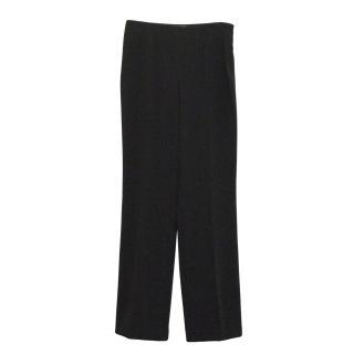 Les Copains black tailored trousers