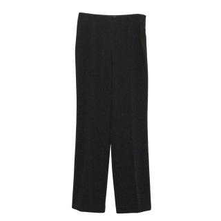 Les Copains black tailored trousers