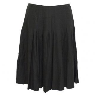 Chloe noir pleated skirt