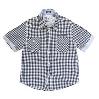 My shirt true denim checkered boys shirt
