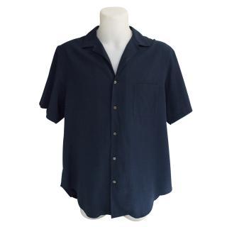 Jil Sander mens navy shirt
