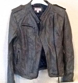 Gharani Strok leather jacket