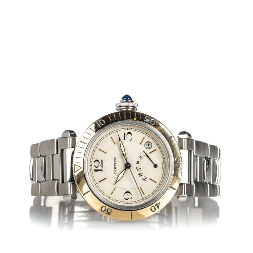 Cartier Stainless Steel Pasha Automatic W31012H3