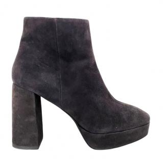 Bimba Y Lola Suede Ankle Boots