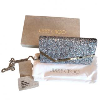 Jimy Choo Bubblegum Mix Emmie Clutch