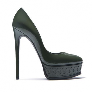 Casadei Greenwhich Chain Platform Pumps