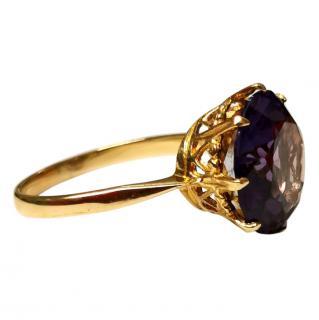 Bespoke Alexandrite Soliatire Ring
