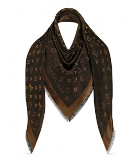 Louis Vuitton Monogram So Shine Shawl - New Season