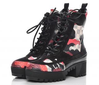 Louis Vuitton Overcloud Laureate Platform Desert Boots
