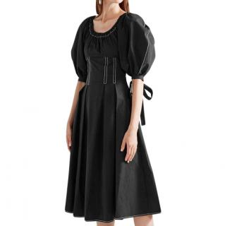 Rejina Pyo Black Cotton Greta Dress