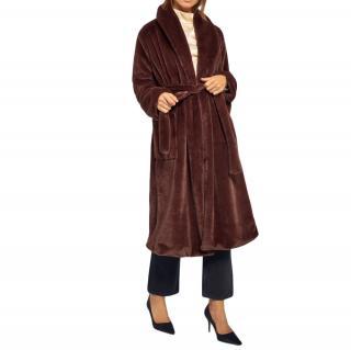 Reformation Brown Hudson Coat