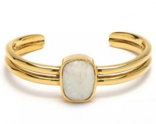 Lizzie Fortunato Canyon Cuff Dolomite Bracelet