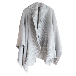 Burberry Cashmere Blend Knit Poncho
