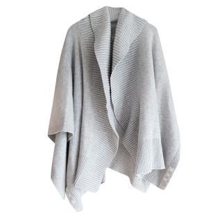 Burberry Cashmere Blend Knit Poncho